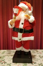 "Vintage Santa Claus 1986 Telco Motionette Animated & Illuminated  24"" Tall - $58.99"