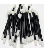 50 Disposable Long Eye shadow Applicators Dual End Makeup Sponge Wands #5009 - $11.95