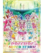 Precure Super Stars! The Movie Region All English Subtitle Ship From USA - $15.51