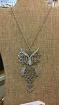 Vintage Large Owl necklace - $12.87