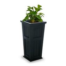 Garden Beautification Tool in Square Black Plastic Column Planter Panel... - $82.65