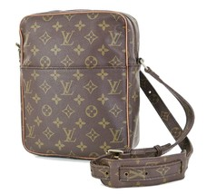 Auth VTG LOUIS VUITTON Marceau Monogram Messenger Shoulder Bag #35206A - $329.00
