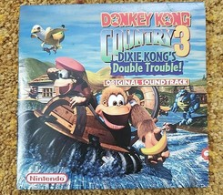 Donkey Kong Country 3 Soundtrack CD Super Nintendo NES~ Dixie Kong~ RARE - $193.42