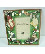 """New Russ Highland Ridge 3D Golf Picture Frame - Holds 3 1/2"""" x 5"""" Photo - $12.19"""