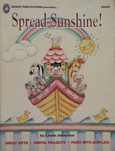 Spread Sunshine By Linda Johnston Clothing & Shoe Designs Tole Painting ... - $12.98