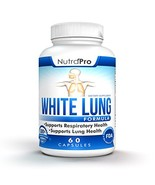 White Lung by NutraPro - Lung Cleanse & Detox. Support Lung Health After... - $22.94