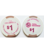 Lot of 2 The Cromwell Casino in Las Vegas, NV $1 Casino Chips - $4.95