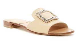 New in Box - $325 Stuart Weitzman Jacqui Chain Slide Beige Sandals Size 7.5 - $99.99
