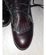 Lace up boots - $55.00