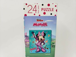 Disney Junior 24 Pc Jigsaw Puzzle - New - Minnie Mouse w/ Microphone - $8.99