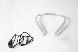 LG Tone Platinum HBS-1100 Premium Wireless Stereo Headset Silver Bluetooth - $116.86