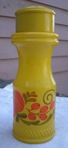Vintage Avon Pennsylvania Dutch Design Bottle,1970s,shaker style,yellow ... - $5.99