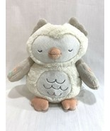 Carters Ivory Owl Soothing Sounds Projector Plush Musical Night Light Up Baby - $22.76
