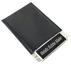 """(200) 13"""" x 17.5"""" Black Metallic Bubble Mailers Envelope Bags 200 Per Case - $162.50"""