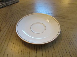 "LENOX BONE CHINA SAUCER ONLY CLASSICS COLLECTION FEDERAL GOLD 6"" USA - $8.86"
