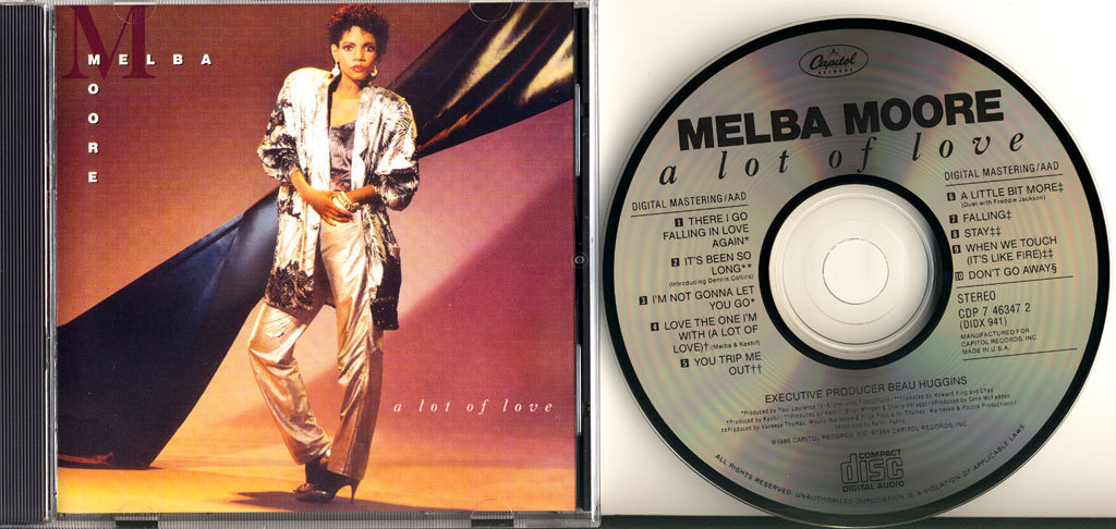 Melba Moore - Does Love Believe In Me / Don't Cry Sing Along With The Music