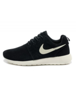 Nike Roshe Run Men Running Shoes Black / White - $42.19