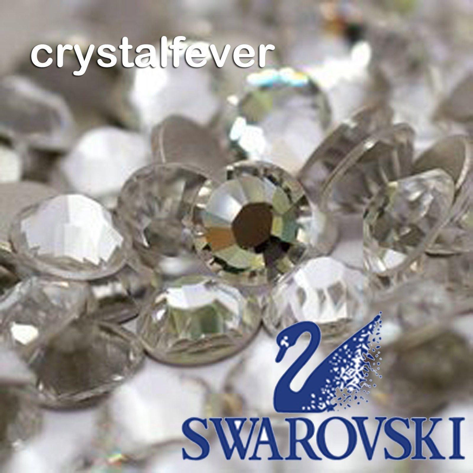 10Pcs 2058 Swarovski Clear Crystals SS40 / SS48 Non Hotfix Flatback Rhinestones