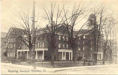 Primary image for Wyoming Seminary Kingston Pennsylvania Vintage Post Card