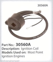 Tecumseh 30560 A Ignition Coil Cdi Fit, Lav Series, Stens 460 063, Oregon 33 363 - $46.99