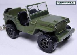 Ancien Model Porte Cle US Jeep Willys GPW WW2 Key Chain Ring - $24.98