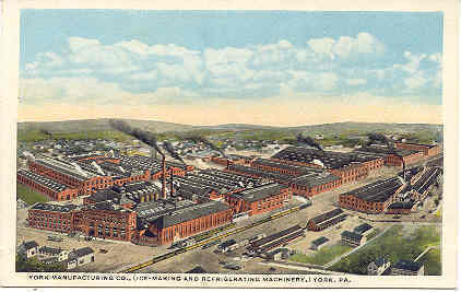 Primary image for York Refrigeration Co York Pennsylvania Vintage Post Card