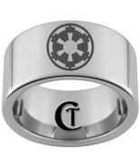 12mm Pipe Tungsten Carbide Laser Star Wars Empi... - $49.00
