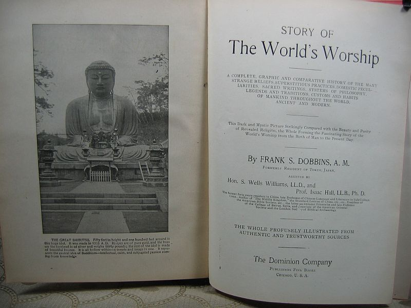 Story of The World's Worship by Frank S. Dobbins 1901