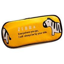 Original Pen/Pencil Case Cosmetic Bags Large Capacity Zebra Yellow, 2048... - ₹1,060.54 INR