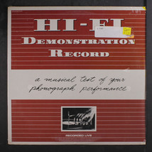 HI-FI: Demonstration Record LP Sealed (mini-LP, drill hole) Punk/New Wave - $15.00