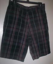 *~2 NWT Prs Apt 9 Men's Plaid Shorts sz 30 - $25.00
