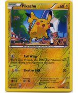 Pikachu 20/108 Reverse Holo Common Roaring Skies Pokemon Card - $1.29