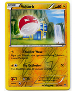 Voltorb 21 reverse holo common roaring skies thumbtall