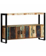 vidaXL Sideboard Solid Reclaimed Wood Side Cabinet Storage End Stand Buffet - $213.99