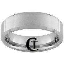 7mm Beveled Tungsten Carbide Satin Finish Band Ring Sizes 5-15 - $21.00
