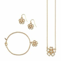 Avon In Bloom 3 pc Set in Goldtone - $17.82