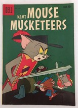 Tom & Jerry MGM's Mouse Musketeers Dell #19 1959 Comic Book VG+ Silver Age - $8.99
