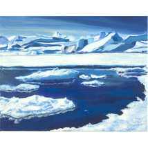 MELTING SEA ICE - $1,000.00