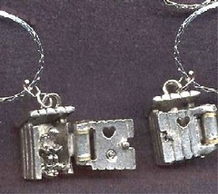 New Funny OUTHOUSE PENDANT NECKLACE-Camping Country Charm Costume Jewelr... - $12.99