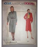 Vogue American Designer Leo Narducci 2215 Size 10 Sewing Pattern Jacket ... - $17.99