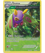 Dustox 8/108 Rare Roaring Skies Pokemon Card - $0.99