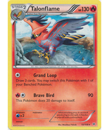 Talonflame 15/108 Rare Roaring Skies Pokemon Card - $0.99