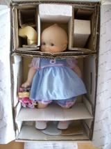 "1997 Danbury Mint Kewpie ""Basket of Love"" Porcelain Doll  - $125.00"