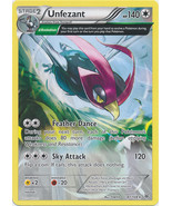 Unfezant 81/108 Rare Roaring Skies Pokemon Card - $1.29