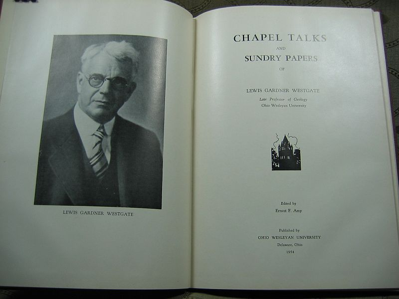 Chapel Talks and Sundry Papers by Lewis Gardner Westgate
