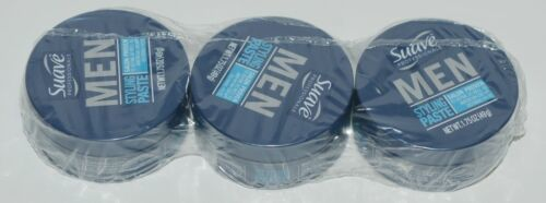 Suave Professionals Mens Hair Paste Non Gloss Matte Pack of 3 Containers