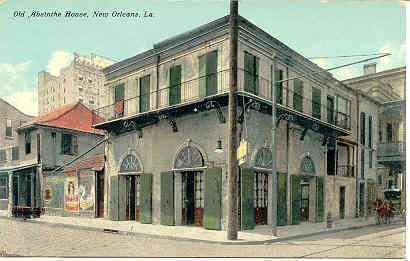 New Orleans, Absinthe House Post Card