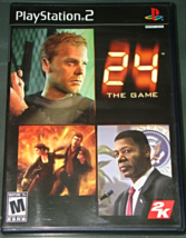 Playstation 2  - 2K - 24 THE GAME (Complete with Instructions) - $6.75