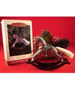 Hallmark 1993  Rocking Horse QX416-2     - $15.00