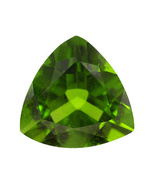 Chrome Diopside From Russia, .60ct 6x6mm Trillion - $20.00